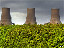 Cooling towers at Dumfries