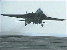 Tomcat landing
