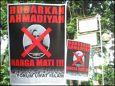 Anti-Ahmadiyah protest