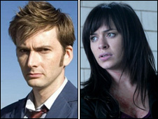 Doctor Who's David Tennant and Torchwood's Eve Myles