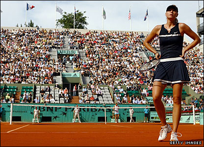 Dinara Safina and Maria Sharapova