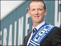 New Coleraine manager David Platt