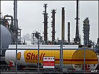 Instalaciones de Shell en Escocia, Reino Unido