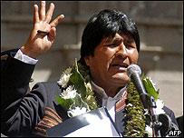 Evo Morales (01/05/08)