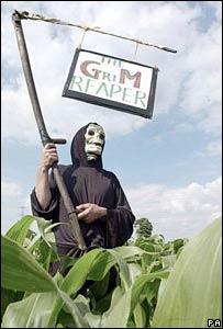 Protesta contra alimentos transg�nicos
