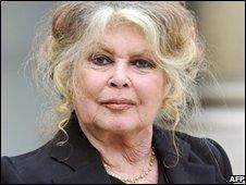 Brigitte Bardot, in 2007