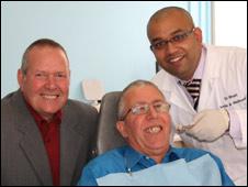 John Ridlington, Leslie Mason and Dr Bhavin Bhatt