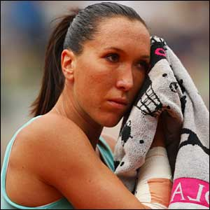 Jelena Jankovic barely breaks sweat in beating Spain's Carla Suarez Navarro 6-3 6-2 - she'll meet Ivanovic in the semis