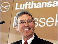 Wolfgang Mayrhuber, Lufthansa chief executive