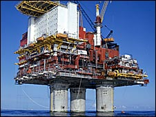 Norway oil platform