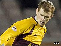Motherwell defender Mark Reynolds