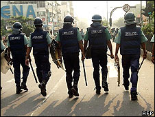Police in Bangladesh