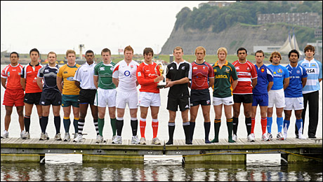 The IRB Junior World Championship captains