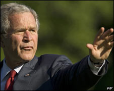 President George W Bush. File pic