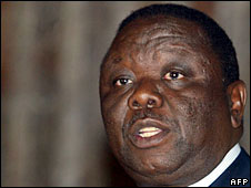 Morgan Tsvangirai, 30 May, 2008
