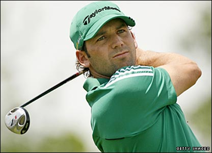 Spain's Sergio Garcia lost to Harrington in a play-off for the Open at Carnoustie last July