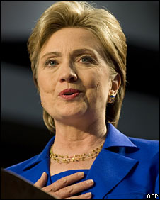 Hillary Clinton in New York, 3 June
