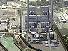 The proposed new Kingsnorth power station