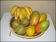 The Mbiru's fruit bowl