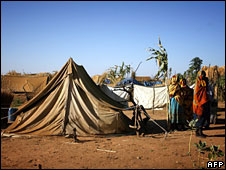 Darfur displacement camp