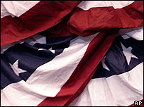 Bandera estadounidense.