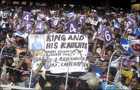 Crowd at an IPL match