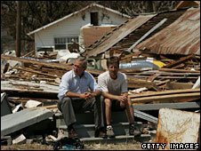 President Bush in Mississippi