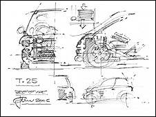 Gordon Murray drawing