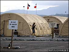 Tents at Camp Justice, Guantanamo Bay