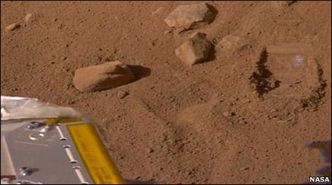 Phoenix landing site (Nasa)