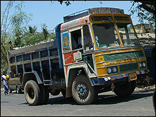 Truck in India
