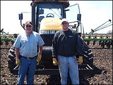 Iowan corn farmers