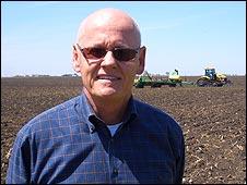 Craig Brownlee, Iowan corn farmer