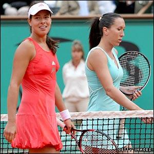 Ana Ivanovic and Jelena Jankovic