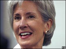 Kathleen Sebelius (File picture)