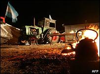 Protesta agrícola en Argentina