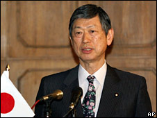 Japanese Foreign Minister Masahiko Komura (file image)