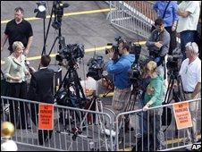 Television crews