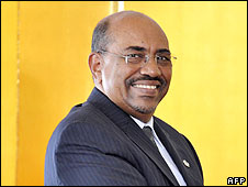 Sudanese President Omar Hassan Ahmed El Bashir