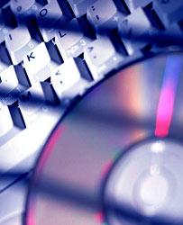 Computer keyboard and CD