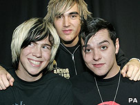 James Bourne, Charlie Simpson and Matt Willis