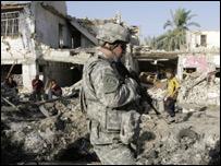 جنود أمريكيون في العر اق
