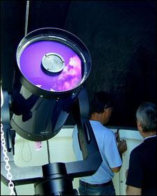 Telescope (Pic: HAS)