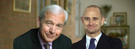 John Humphrys and Evan Davis