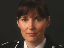 New Chief Constable Norma Graham