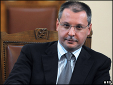 Bulgarian Prime Minister Sergei Stanishev