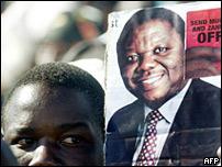 Simpatizante de Tsvangirai