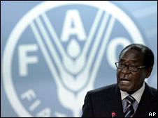 Robert Mugabe at the Food and Agriculture Summit (June 2008)