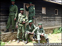 The ranger team at Gatovu (Image: Wildlife Direct)