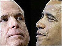 John McCain y Barack Obama (Getty Images/AP)